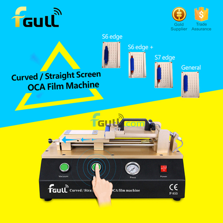 Curved Screen OCA Film Laminating Machine